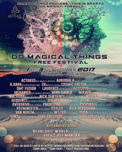 Do Magical Things Festival, Portugal